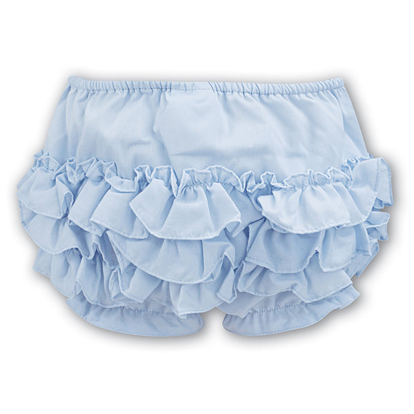Sarah Louise  -  Frilly Pants, pale blue, 003760