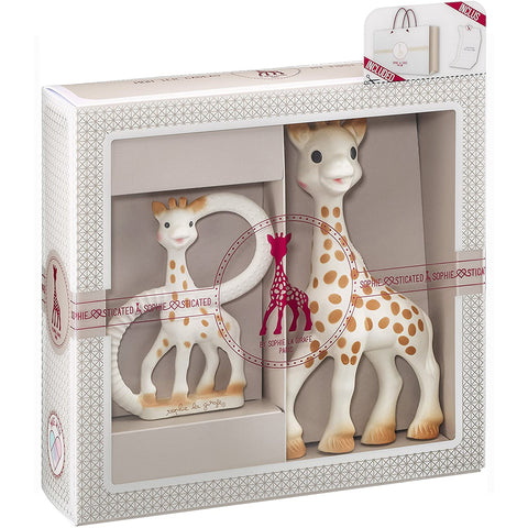 Sophie la Girafe - 2 piece set, original Sophie and teether
