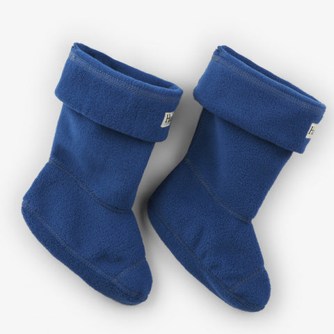 Hatley - Fleece Boot linners, navy