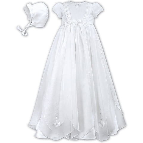 Sarah Louise - Christening gown, 001050S, white, 6 months