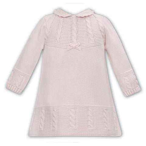 Sarah Louise - knitted dress 008136 pink