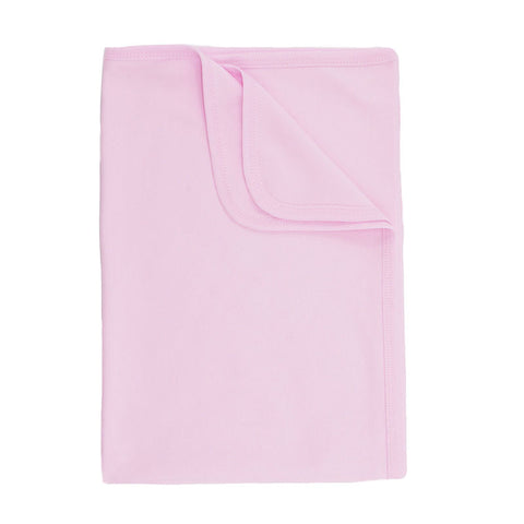 Soft Touch - receiving blanket pink