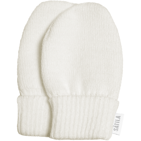 Satila - Baby mittens, Trixie, off-white