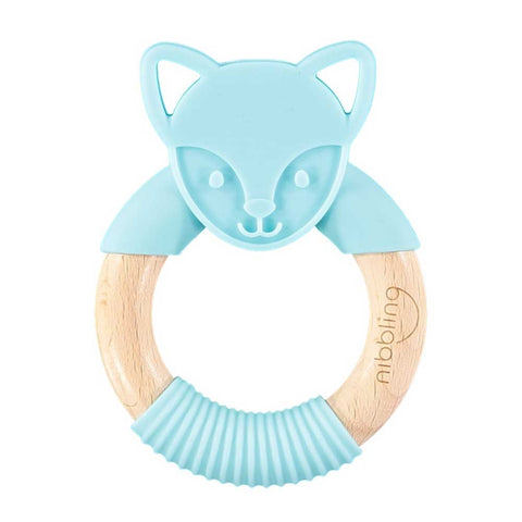Nibbling - flex fox, blue
