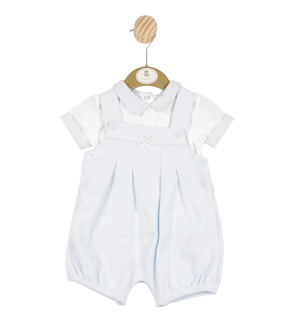 Mintini - 2 piece set, top and dungarees MB3232