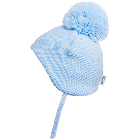 Satila - Brian Pompom hat, blue