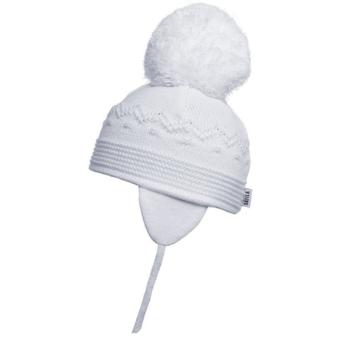 Satila - baby hat, white, Belle, C61515