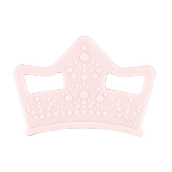 Nibbling London - Teething toy, Royal range tiara, pink