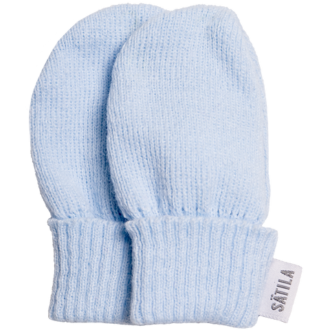 Satila - Baby mittens, Trixie, pale blue