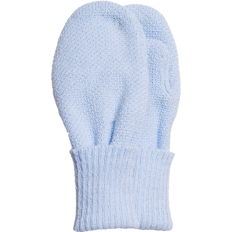 Satila - Baby mitts, Twiddle, pale blue