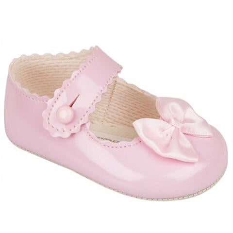 Early days - Pram shoe B604 pink