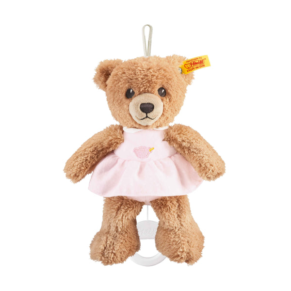 Steiff - Sleep well music bear 20cm pink