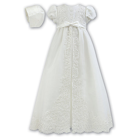 Sarah Louise - Ivory Christening gown - 001165