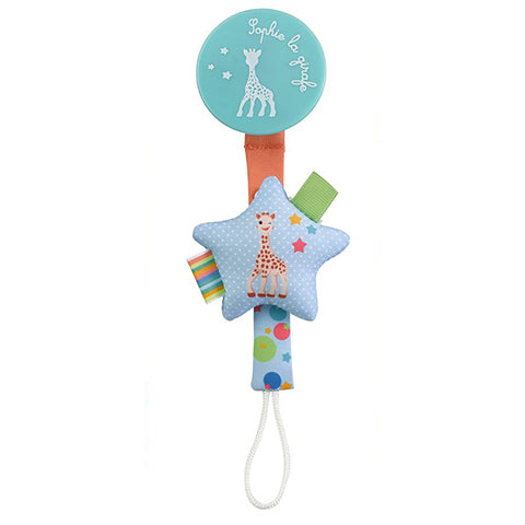 Sophie la Girafe - Soother holder, star