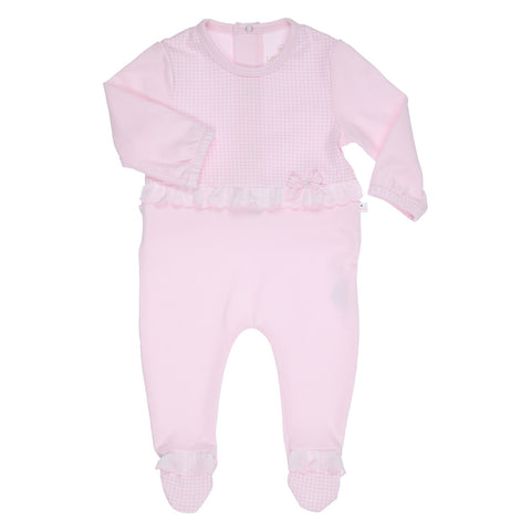 GYMP - Girls pink all in one romper