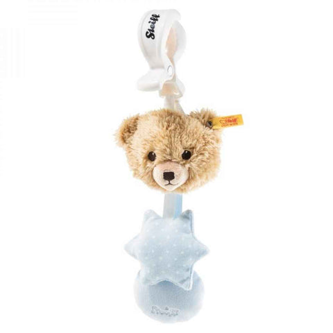 Steiff - Sleep well, pram toy, pale blue 240959