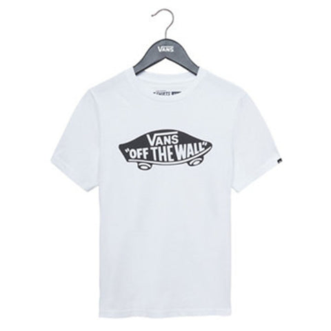 "Vans - White OTW tee shirt with signature logo, VN00IVEYB2 <BR> <span style=""color:#FF0000"">SALE"