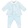 Emile et Rose - Pale blue 2 piece set Thierry