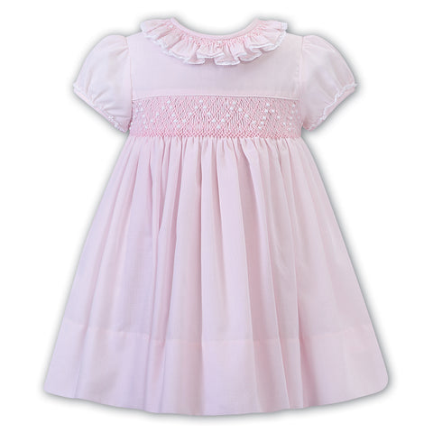 Sarah Louise - Baby girl hand smocked  dress  012250-1
