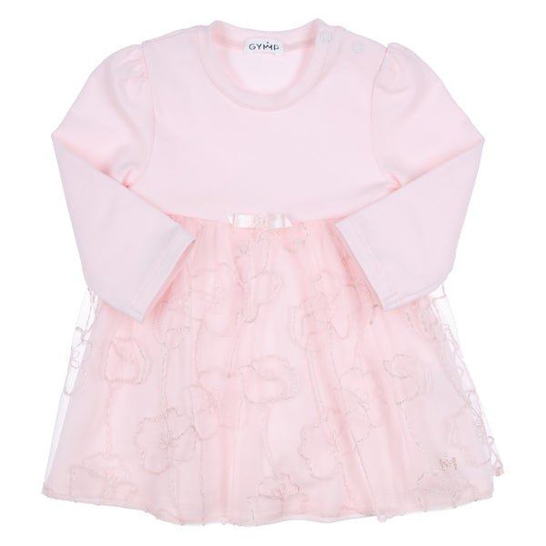 GYMP - soft pink dress with overlay