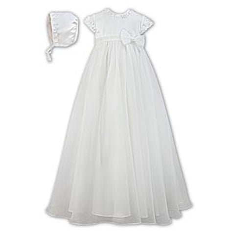 Sarah Louise - Christening gown, ivory, 001055KS