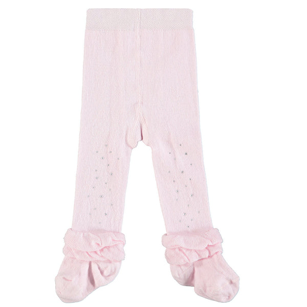 A'Dee - baby tights pink sparkle Issie