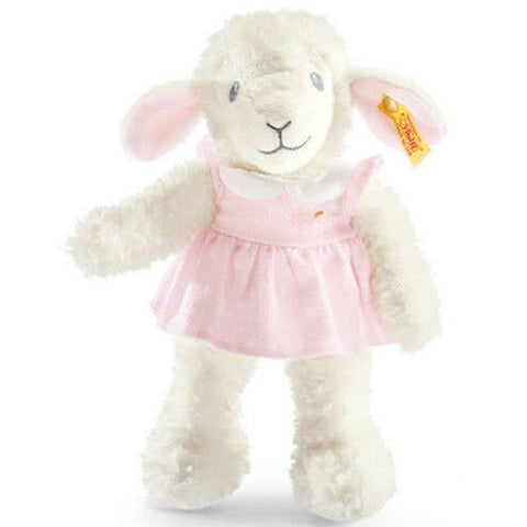 Steiff - Lamb in pink dress, 239625