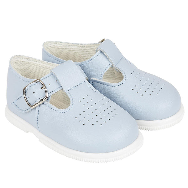 Early Days - first walker shoes H501, pale blue