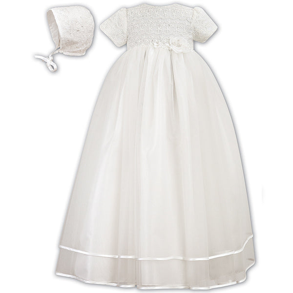 Sarah Louise - Christening gown, ivory, 001087, 6 months