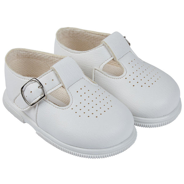 Early Days -  first walker shoes H501 White