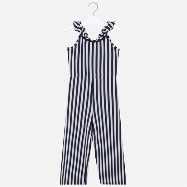 "Mayoral - Navy and white stripe playsuit 6808<BR> <span style=""color:#FF0000"">SALE"