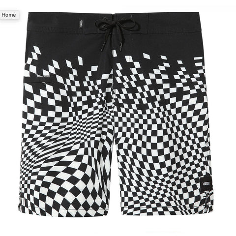 "Vans - Pixelated Board shorts, VN0A4MUTBLK1 <BR> <span style=""color:#FF0000"">SALE"