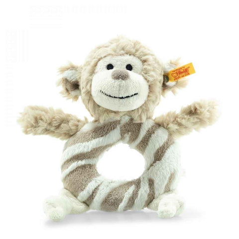 Steiff - Bingo monkey rattle,