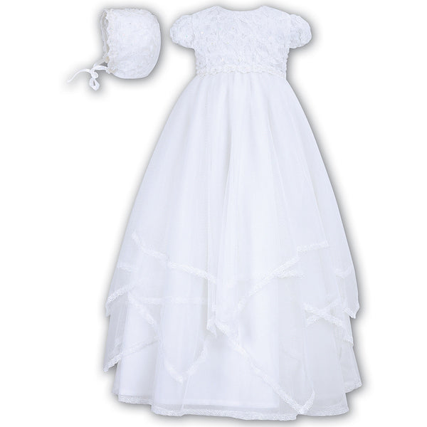 Sarah Louise - Christening gown, 093, white