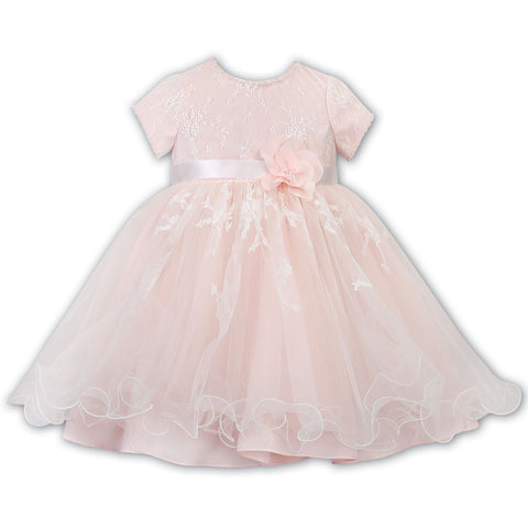 Sarah louise - Special occasion dress, soft peach, 070064