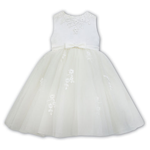 Sarah Louise - Occassion dress ,ivory, 070073