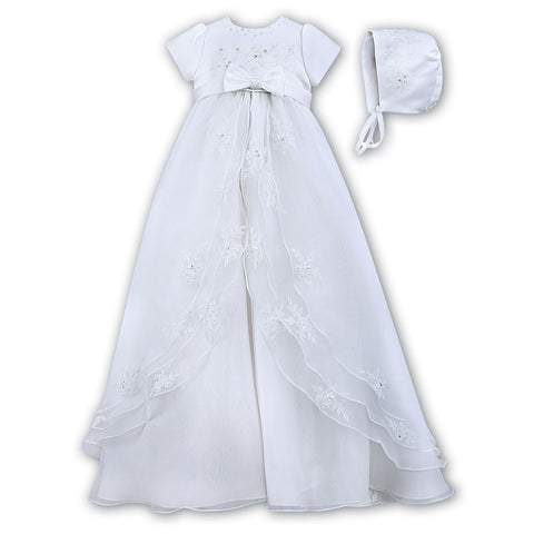 Sarah Louise - Christening gown, white 001068