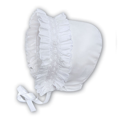 Sarah Louise - Bonnet, 003622P white