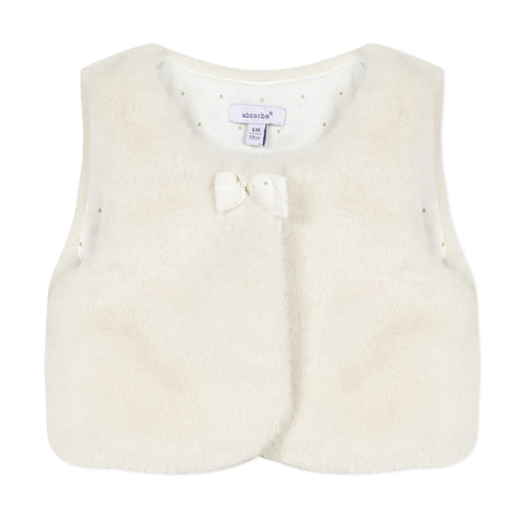 Absorba - faux fur gilet 0R16002