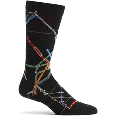 Boston MBTA Subway Socks from Ozone Design