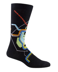 washington dc subway map socks from Ozone Design