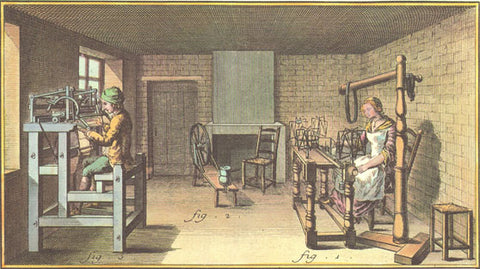first knitting machine