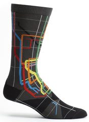 MTA Subway Socks from Ozone Design