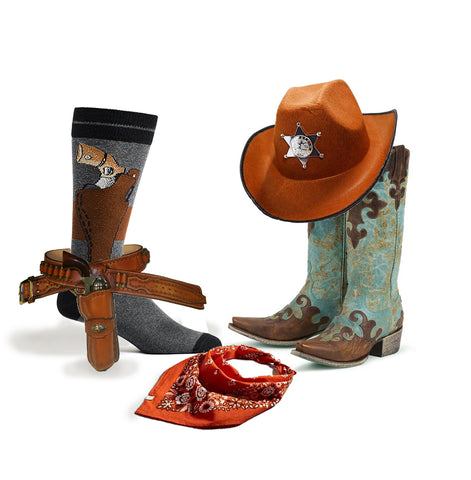 ozone design cowboy socks for cowboy costume