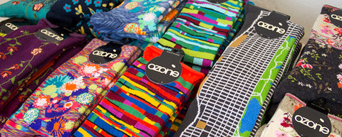 ozone design sock of the month club socks