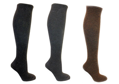 ozone design laine polaire wool knee high socks