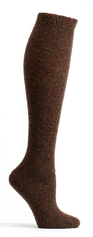 ozone design's laine polaire wool knee high socks