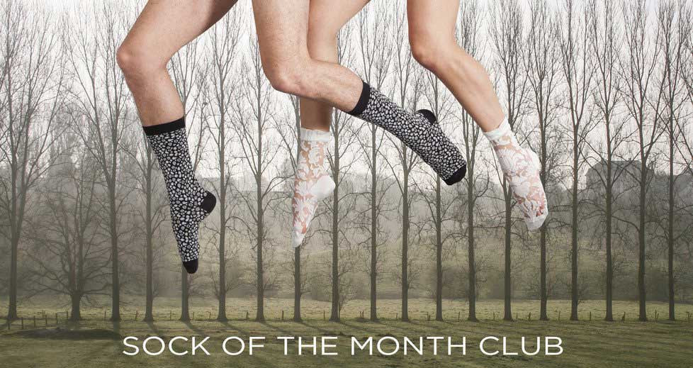 Sock of the Month Club from Ozone Designs