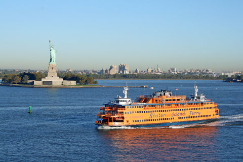 things to do in nyc - staten island ferry and the statue of liberty