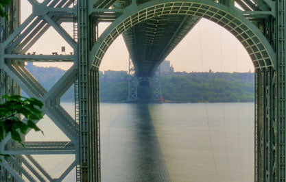 visit the george washington bridge in nyc